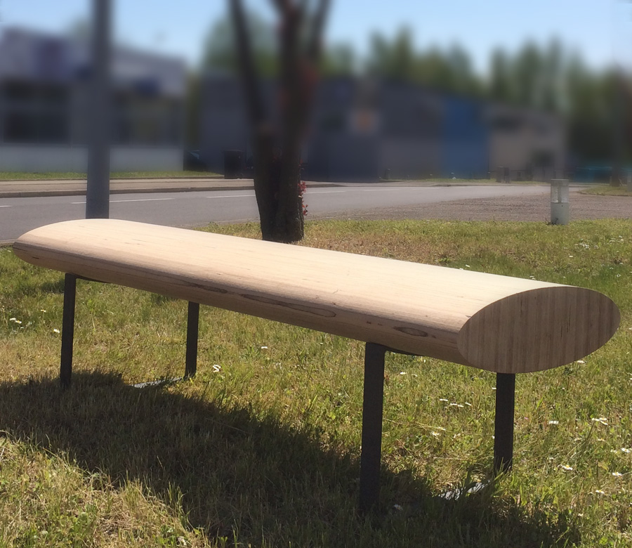 Street furniture - 2016<br>Some benches...